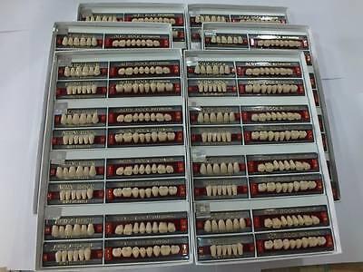 Teeth Set Box For Acrylic Flexible Dentures Acryrock4 Sets In A Box