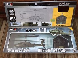 Remote control Red5 Apache Gunship 2.4ghz