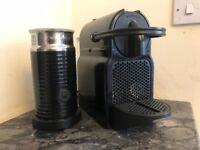 Nespresso Inissia Coffee Machine & Aeroccino Milk Frother