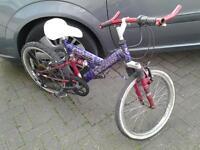 Childs Bike, Suspension & Gears.