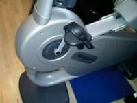 Technogym Recumbent Exercise Bike As New Condition