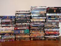 Huge selection of dvds over 450
