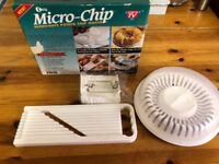 NEW Microwave Potato Chip Maker - Micro-Chip