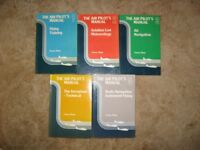 Private Pilot's Licence Books - set of 5.