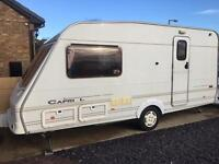 Swift Capri 2001 2 berth touring caravan end wash room VERY TIDY