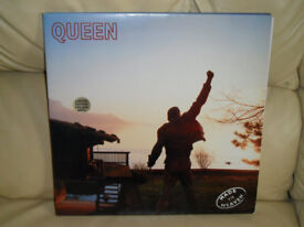 QUEEN: Made In Heaven Rare Limited Edition 1995 UK Ivory Vinyl LP Album