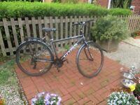 Cross Malvern Bike