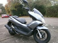 Honda PCX 125cc Perfect Condition , Only 1 previous owner , purchased from Honda Dealership. FSH