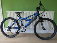 "BOYS 24"" WHEELED MOUNTAIN BIKE..""RALEIGH BADDMAX HT""EXCELLENT CONDITION,READY TO RIDE AWAY TODAY."
