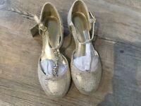 Monsoon child's Shoes size UK13 New