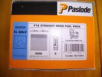 Paslode Nails - Straight Brad 38mm + 50mm