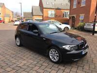 2010 10 BMW 116D ES BLACK 3 DOOR DIESEL LOW MILEAGE