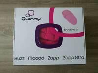 Quinny Buzz Moodd Zapp Zapp Xtra footmuff Brand new Pink passion