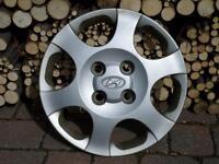 4 enjoliveurs Hyundai (Elantra) pour roues de 15 pouces