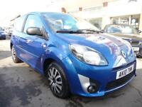 RENAULT TWINGO 1.1 EXTREME 3d 60 BHP (blue) 2010