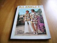 7d14c7d8cbb4bd KLINGEL Katalog Frühjahr  Sommer  73 - Neuwertiger Zustand !!