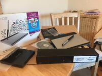 Wacom Pen and Touch small graphics tablet with wireless unit, boxed - never used