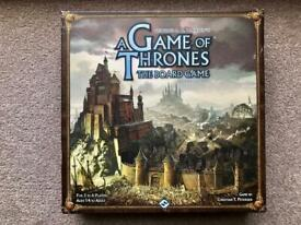 Board Game for sale - Game of Thrones The Board Game (Second edition)