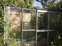 Aluminium Greenhouse 3200x2500mm & Baco Garden room 3000x3000mm