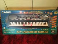 Casio LK-50 key lighting keyboard.