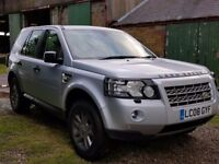 2008 land rover freelander 2 td4 2.2 6 speed manual