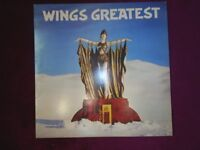 Wings Greatest, Vinyl LP Record - poster insert included