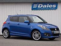 Suzuki Swift 1.6 Sport [nav] 5Dr Hatchback (boost blue met zum) 2014