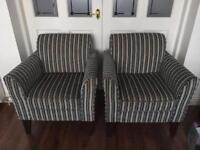 2 Next chairs - armchairs
