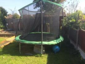 TRAMPOLINE ALMOST NEW
