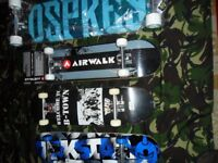 SKATEBOARD/CRUISER/LONGBOARDS ON EBAY NOW OR CASH ON COLLECTION 24/7 FROM KINGSMUIR FORFAR