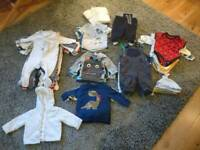 Baby boys clothes. 0-3 months. 85 items