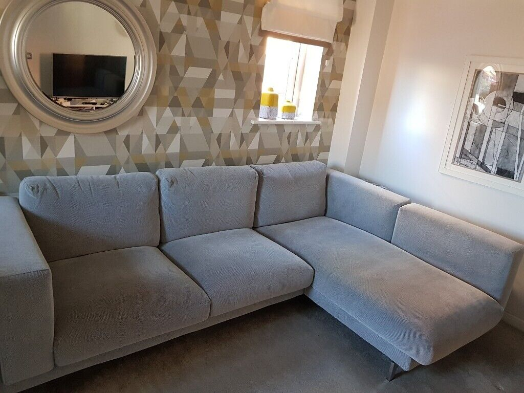 Ikea Nockeby Bank : Ikea nockeby seat corner sofa with right chaise longue rrp £