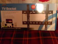 new unopened tv wall beacket 22im=40in with 10im tilt
