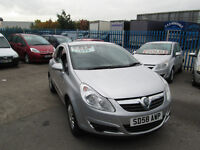2008 58 VAUXHALL CORSA 1.0 LIFE 44,000 MILES ONLY BARGAIN!!!!