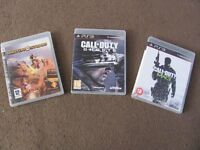 three playstation ps3 games
