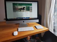 "Apple iMac 27"" 2.7GHz Intel Core i5 16GB RAM (Mid 2011) Keyboard & Mouse upgraded 256GB SSD"