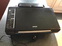 Epson Stylus SX205 printer and scanner