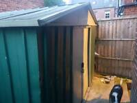 Shed 6x9 metal shed