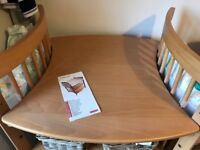 Stokke Care Changing Table Natural Wood