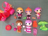 Large LaLaLoopsy Bundle of Littles and Scooter | All in Perfect Condition