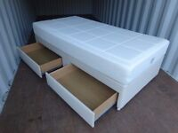 Tempur Deluxe HD Single Bed With Mattress,Very Good Clean Condition,Delivery Available