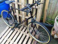 Raleigh Mohawk bicycle 10 speed 20 inch bike frame - BLACK