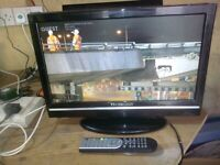 "techwood 19"" lcd widescreen tv/dvd combo"