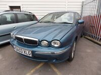 JAGUAR X-TYPE 2.0 V6 (blue) 2003