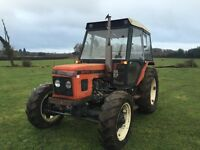 Zetor 6245 tractor only 2800 hours 4x4