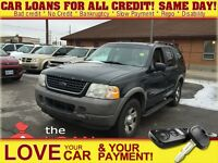 2002 Ford Explorer XLS * FRESH TRADE * AS IS