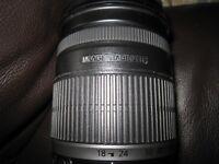 canon EFS 18-200 camera lense