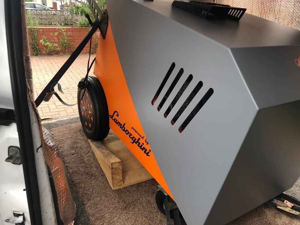 Steam Machine,Fortador Powered By Lamborghini Mobile Car
