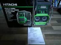 Hitachi site radio