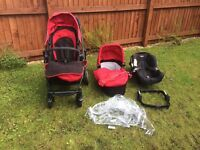 Graco evo 3 in 1 pushchair